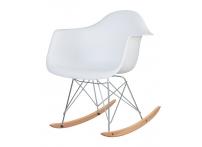 Кресло-качалка DAW ROCK LMZL-PP620A Белый