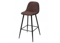 Барный стул LION BAR PK-03 коричневый, ткань микрофибра
