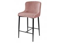 Полубарный стул ARTEMIS BLUVEL-52 PINK
