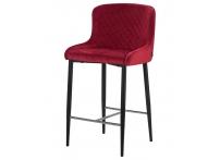 Полубарный стул ARTEMIS Бордовый