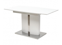 Стол BAND 140 Белый, матовое стекло
