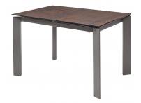Обеденный стол CORNER 120 MOSS / GREY