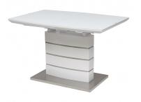 Стол DOVER 120 Белый, матовое стекло