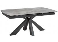 Стол ROVIGO 170 DARK GREY глянцевая керамика