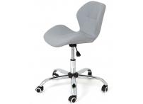Компьютерный стул на роликах INVAR 302D PERFECTO серый