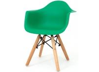 Детский стул Eames DAW изумрудный
