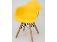 Детский стул Eames DAW желтый