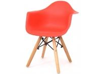 Детский стул Eames DAW красный
