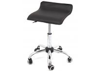 Компьютерный стул на роликах Сrim 2w17 черный хром