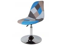 Полубарный стул Eames Petchwork Mobil Blue