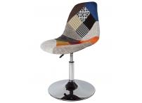 Полубарный стул Eames Petchwork мультиколор