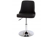 Компьютерный стул поворотный Adam 942-5 черный хром