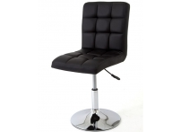 Компьютерный стул поворотный KRUGER 811-9B черный хром