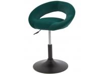 Компьютерный стул поворотный Mira S-905 зеленый велюр