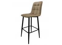 Полубарный стул СПЕЙС бежевый велюр 65 см