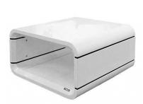 Журнальный столик Opus Quadro белый глянец