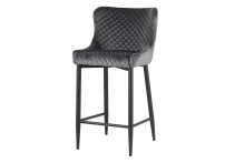 Полубарный стул СТИТЧ Серый