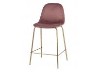 Полубарный стул ВАЛЕНСИЯ Розовый
