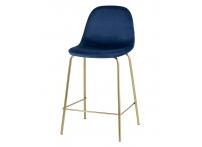 Полубарный стул ВАЛЕНСИЯ Синий