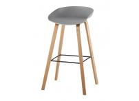 Барный стул LIBRA Серый