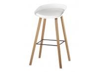 Барный стул LIBRA SOFT Белый