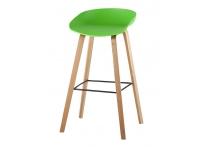 Барный стул LIBRA Зеленый