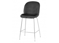 Полубарный стул BEETLE Серый