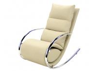 Кресло-качалка  MK-5503-BG с пуфом