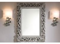 Зеркало PU049 90х120 Серебро