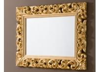 Зеркало PU049 90х120 Золото