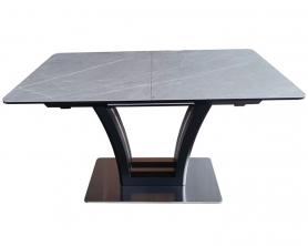 Обеденный стол FUSION-140 Керамика DARK GRAY