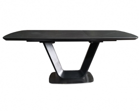 Обеденный стол OASIS-160 Керамика DARK GRAY