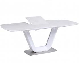Обеденный стол OASIS-160 Керамика Светло-серый