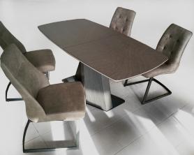 Обеденный стол SCALA brown