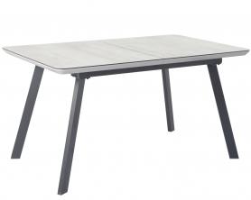Обеденный стол DAKAR 140 Серый/Крем