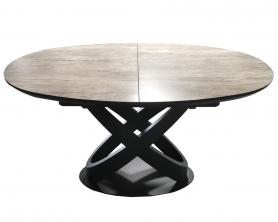 Обеденный стол ORBITA -140 DARK GRAY
