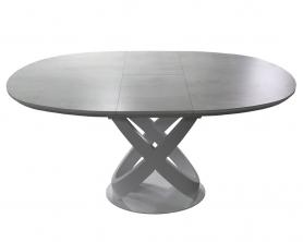 Обеденный стол ORBITA -140 GRAY