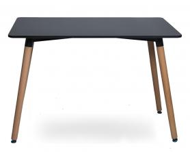 Стол Eames 9BT 130 см Черный