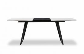 Обеденный стол DT-93 Белый/Черный