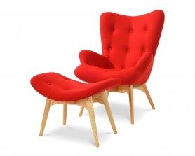 Кресло DC-917 Красное