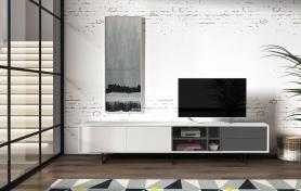 ТВ-тумба TV-130 Белая