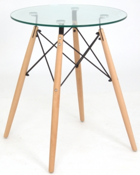 Обеденный стол EAMES DSW d60 стекло