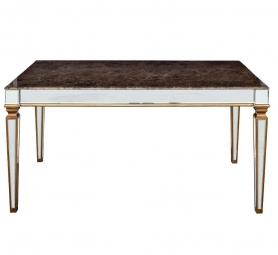 Обеденный стол зеркальный 180см KFC1152E7A