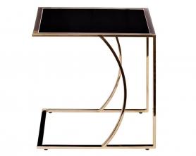 Журнальный столик на металлическом каркасе 13RX5076M-GOLD