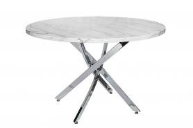 Обеденный стол круглый белый 30F-911