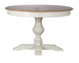 Стол обеденный раскладной белый SH24-HH.DT.08-MA