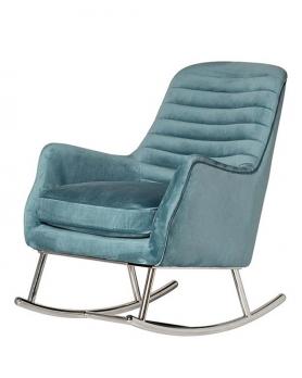 Кресло-качалка  48MY-2569 бирюзовое