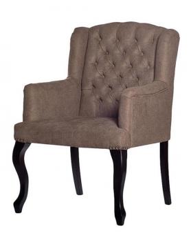 Кресло  PJC591-PJ619 серо-бежевое