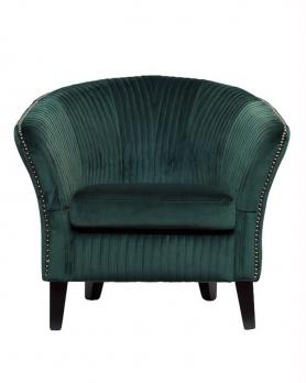 Кресло велюровое PJS30801-PJ622 изумрудное