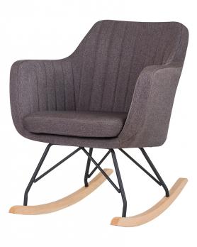 Кресло-качалка LM-3257 Серое